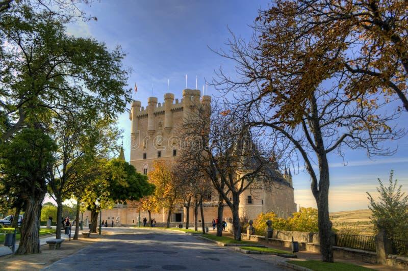 Alcazar of Segovia, Spain stock photo