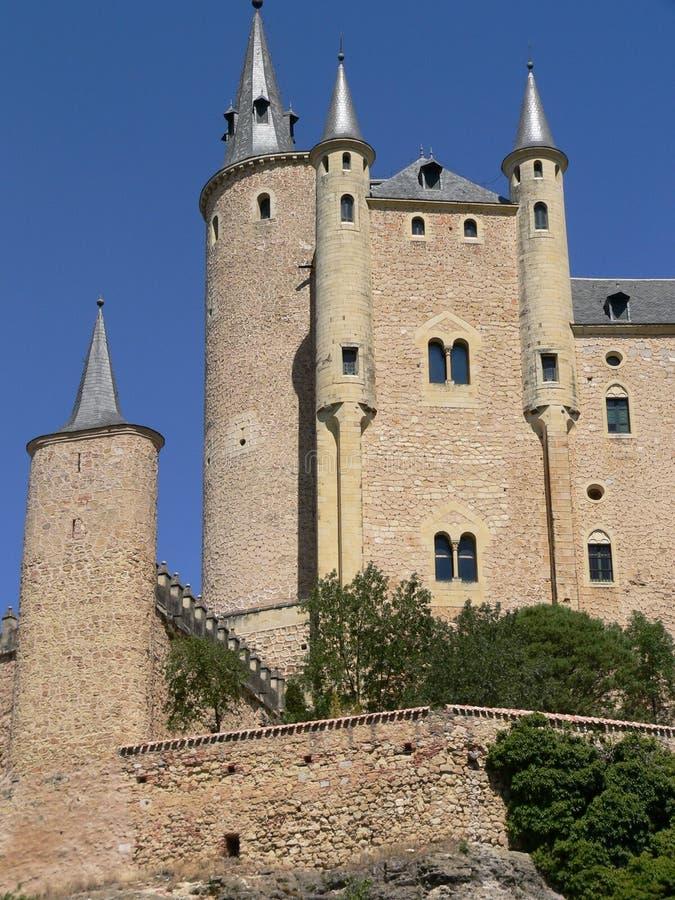 Alcazar Segovia (Spanien) royaltyfria foton