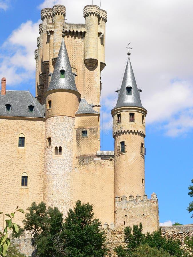 Alcazar Segovia (Spanien) arkivbild