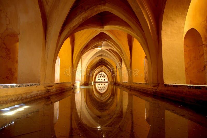Alcazar in Sevilla lizenzfreie stockfotografie