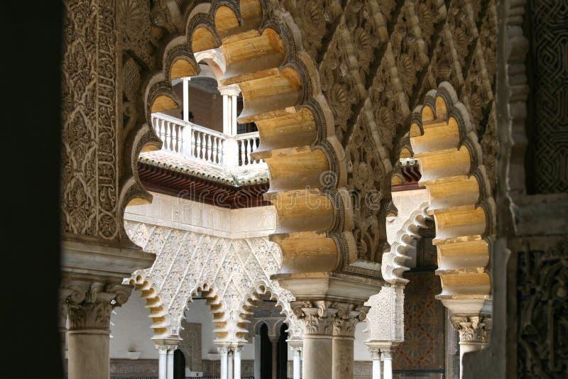 Alcazar Sevilla lizenzfreie stockfotos