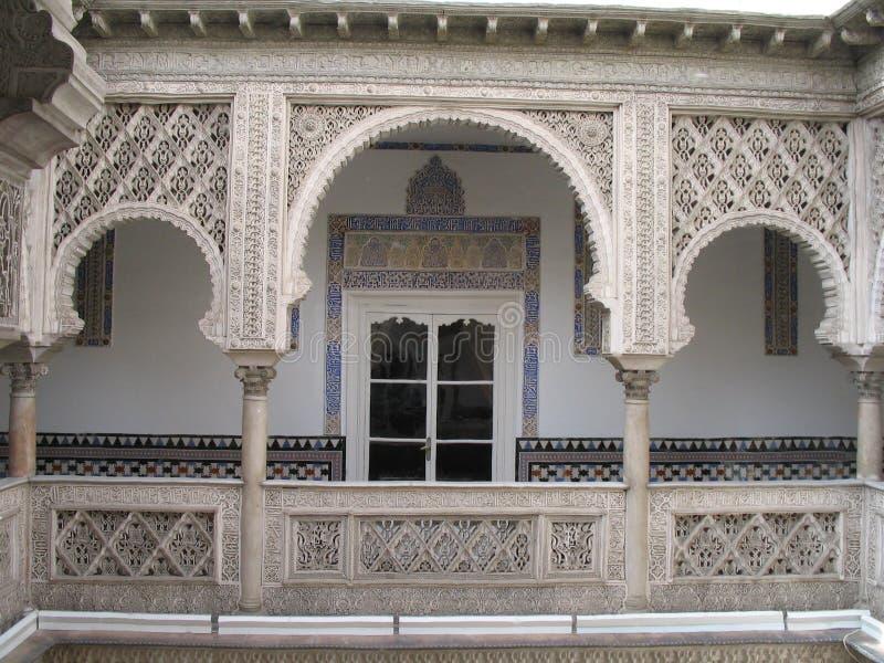 alcazar seville Испания стоковая фотография rf