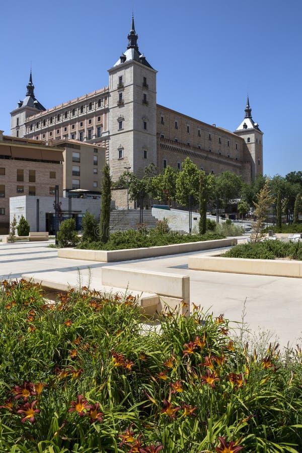 Alcazar - Toledo - Spanien Stockfoto
