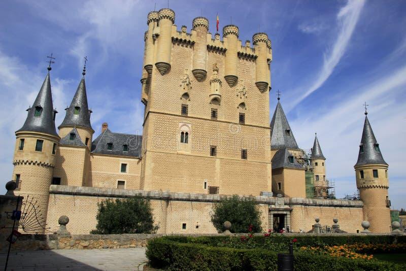 Alcazar van Segovia royalty-vrije stock foto's