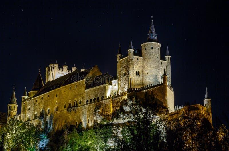Alcazar van Segovia royalty-vrije stock foto