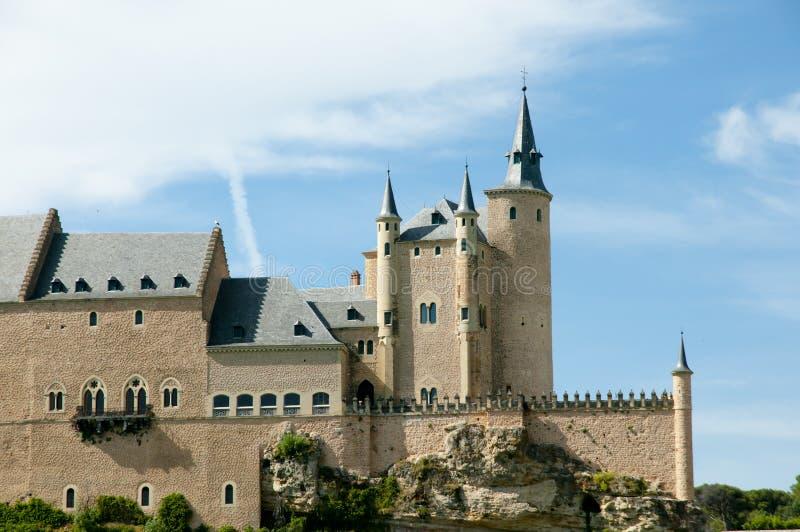 Alcazar van Segovia - Spanje royalty-vrije stock foto
