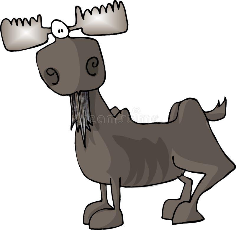 Download Alces ilustração stock. Ilustração de animal, chifre, humor - 58407