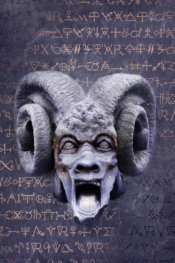 Alchemical jäkel royaltyfri fotografi