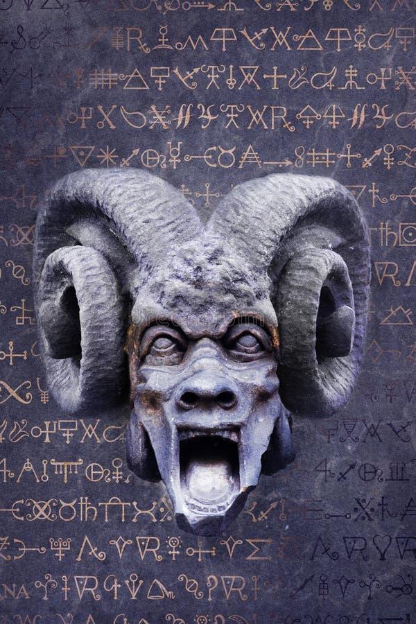 Alchemical Teufel lizenzfreie stockfotografie