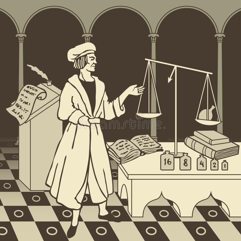 Alchemy1 ilustração royalty free