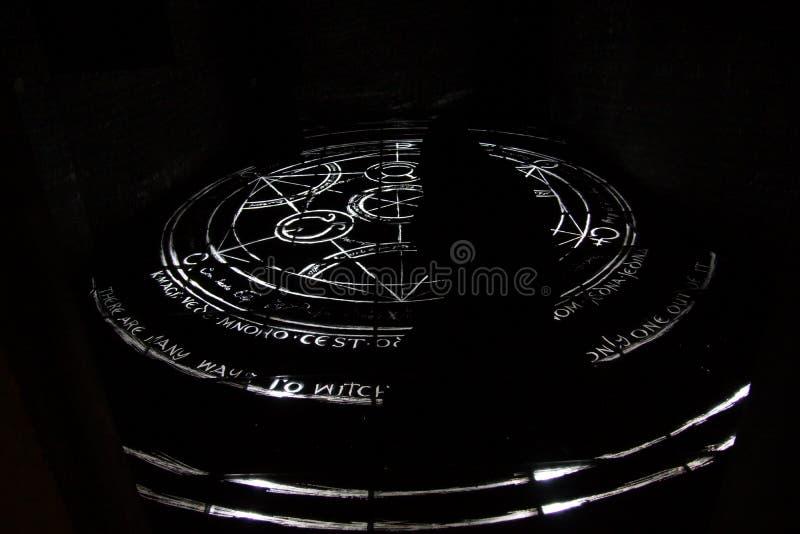 Alchemy Circle royalty free stock photo