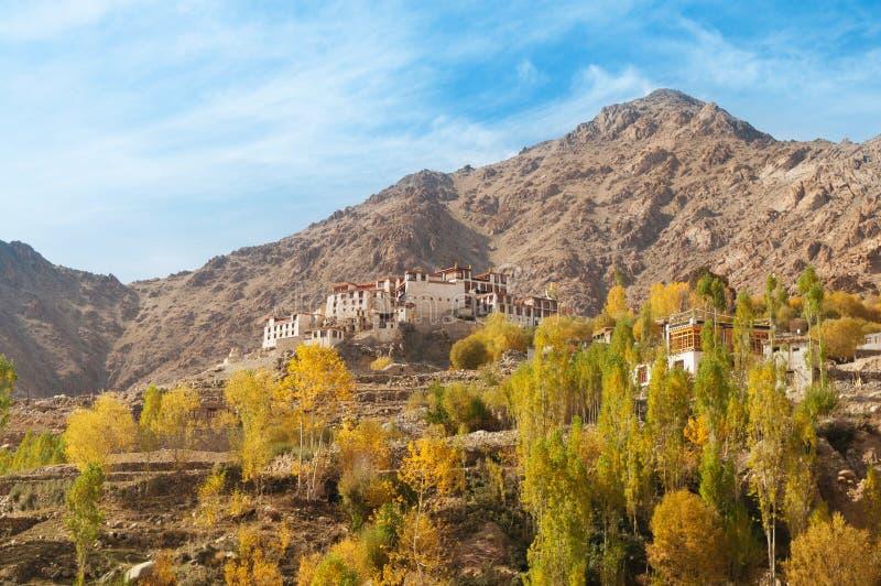Alchi修道院在Leh 免版税库存图片
