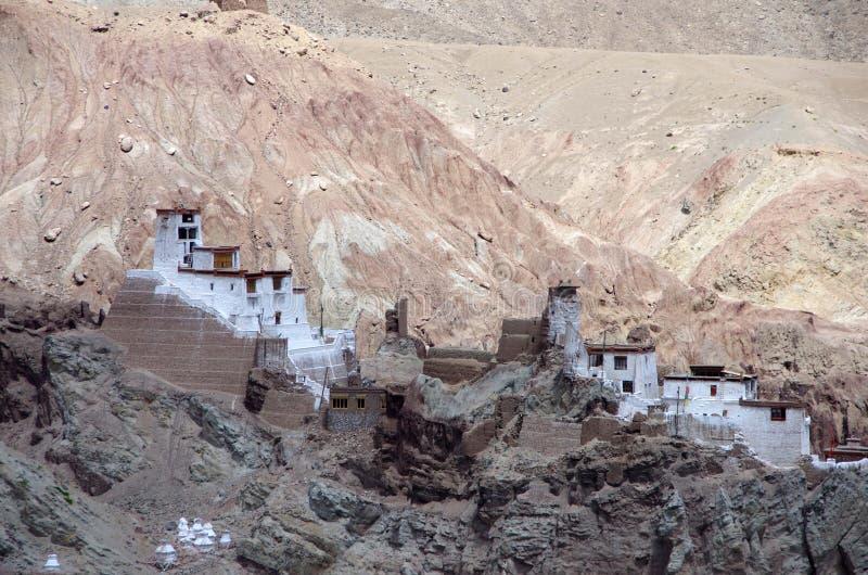 The Alchi monastery in Ladakh, India royalty free stock photos