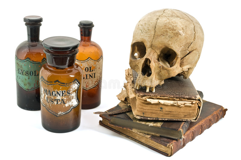 Download The alchimist still life stock image. Image of gothic - 6021349