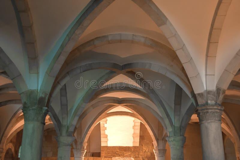 Alcobaça修道院,在葡萄牙,分类为人类继承物由联合国科教文组织 免版税图库摄影
