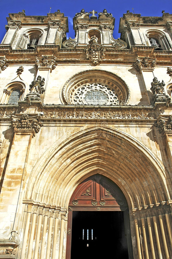 alcoba μοναστήρι Πορτογαλία alcobaca στοκ φωτογραφίες