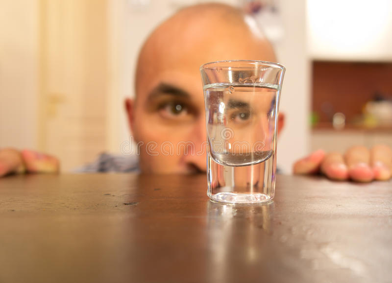 Download Alcohol addiction stock photo. Image of scared, dependency - 26655588