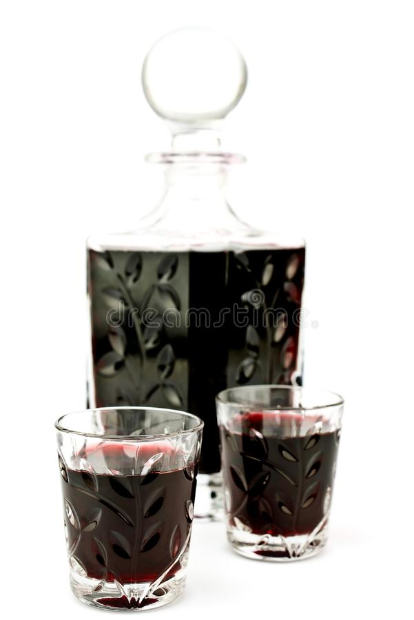 Download Alcohol in carafe stock image. Image of bottle, background - 20150213