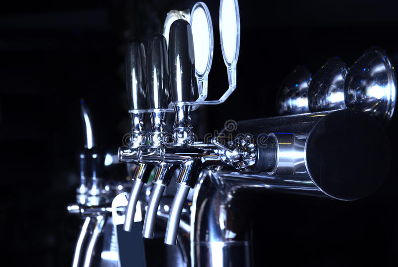 Alcohol conceptual image. Beer dispenser royalty free stock photography