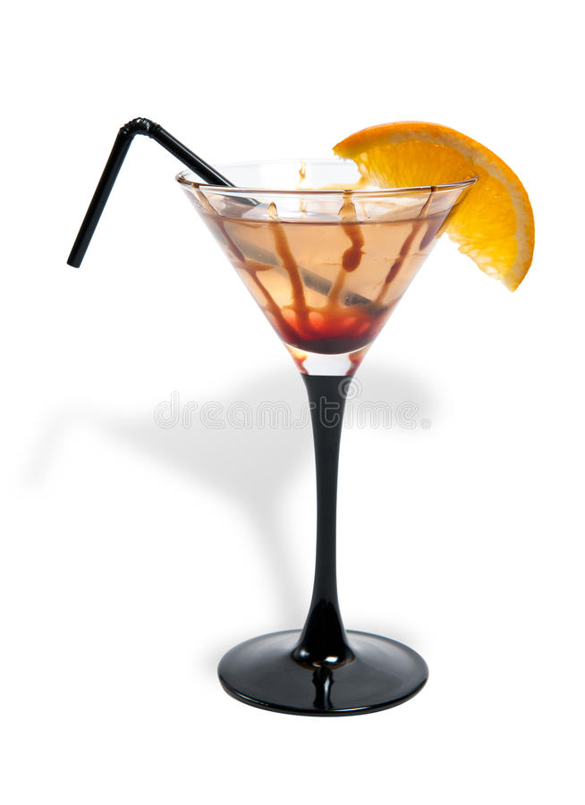 Alcohol Drink In A Glass Stock Photo
