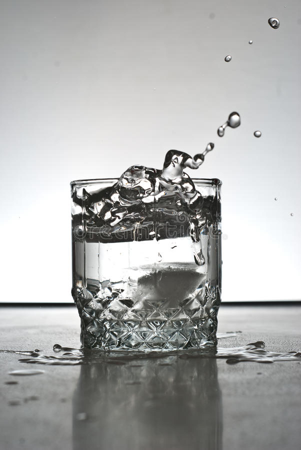 Download Alcohol drink splashing stock photo. Image of single - 12040104