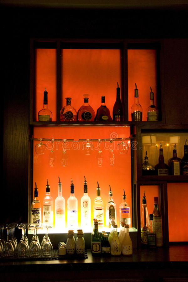 Download Alcohol Drinks In Bar Editorial Stock Photo - Image: 28582243