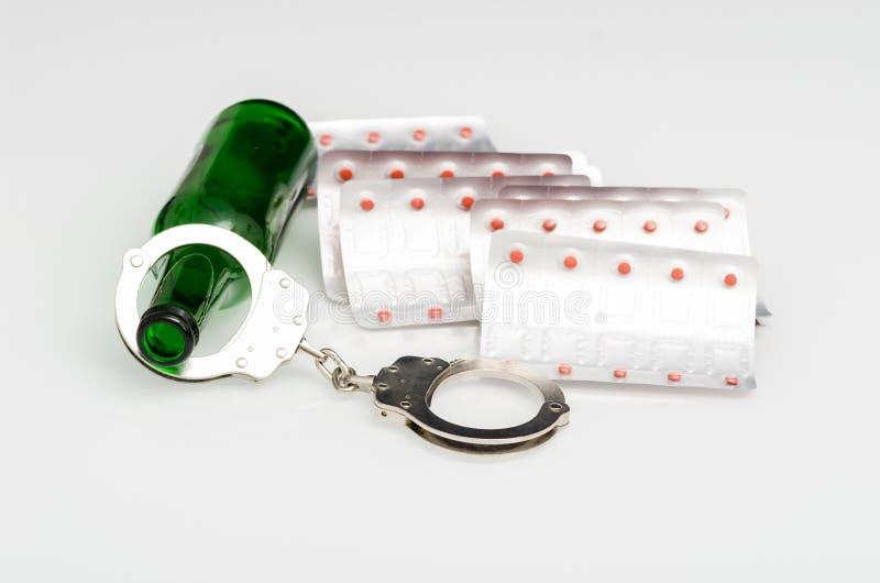 Drug addiction royalty free stock image