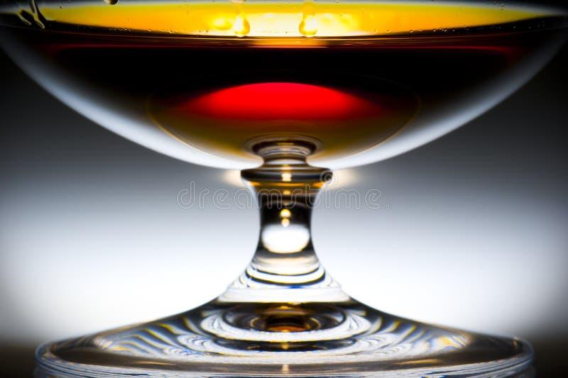 Alcohol en vidrio fotografía de archivo libre de regalías