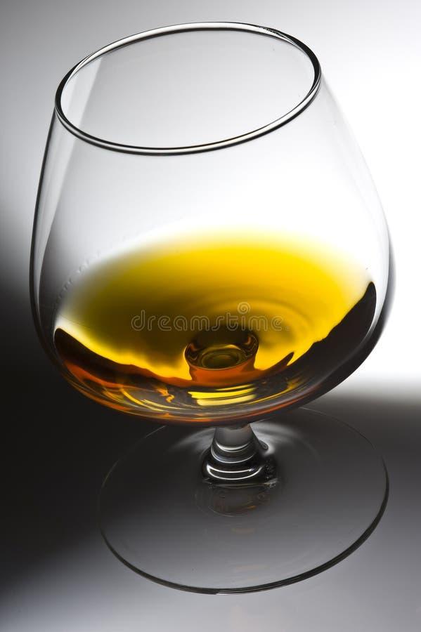 Alcohol in glas royalty-vrije stock foto's
