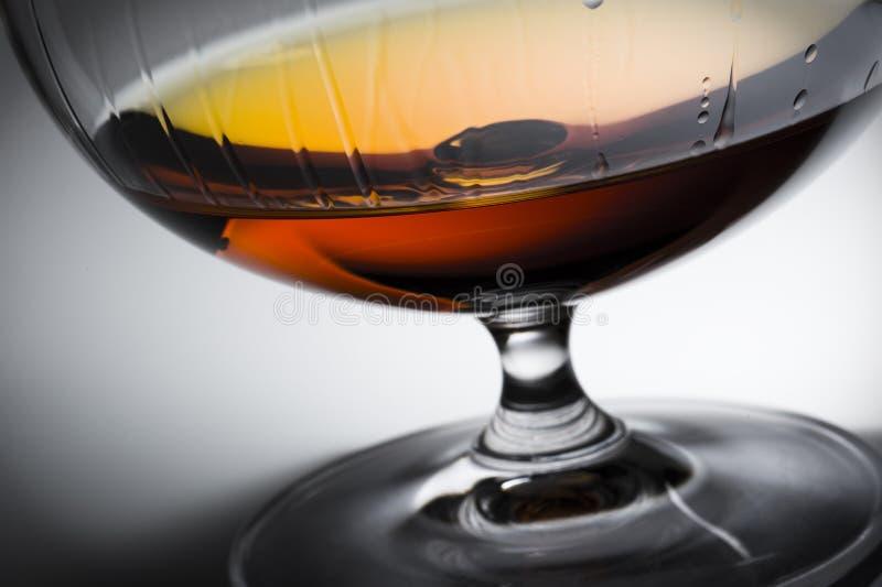 Alcohol in glas stock fotografie