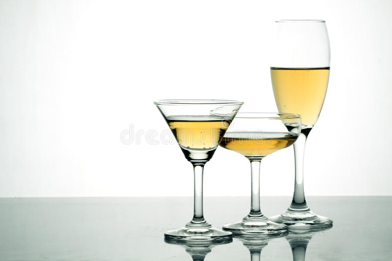 Download Alcohol with Glasses stock photo. Image of alcohol, champagne - 23347322