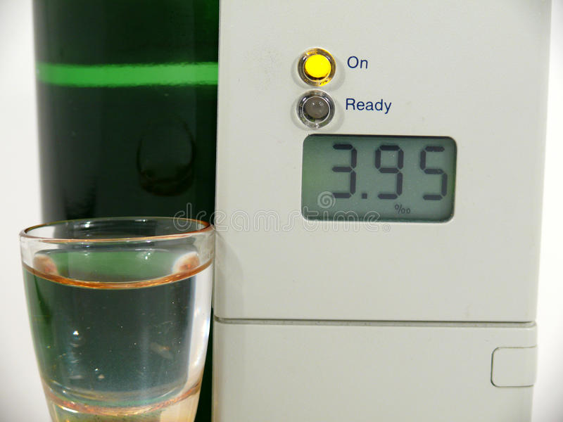 Download Alcohol meter stock photo. Image of suspect, breath, drunk - 16126146