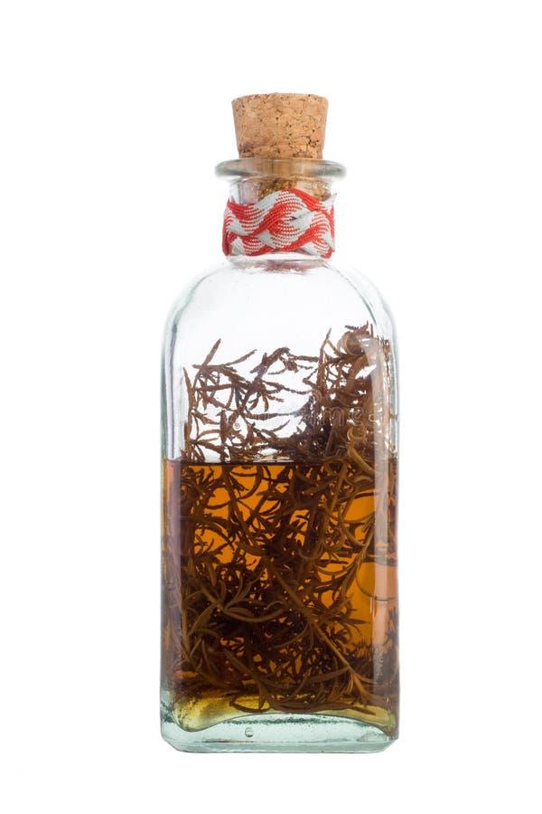 Alcohol van rozemarijn royalty-vrije stock afbeelding