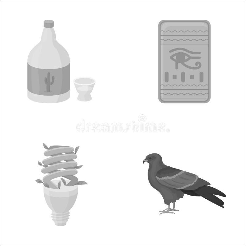 Alcohol, Verlichting En Ander Zwart-wit Pictogram In ...