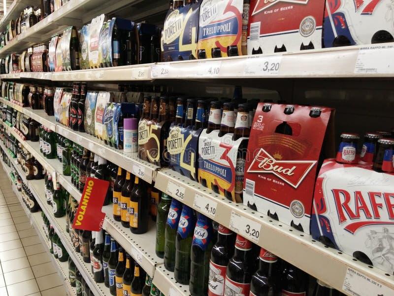 Alcoholbier en cider royalty-vrije stock foto