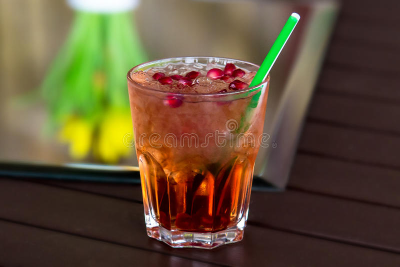 Alcoholcocktail royalty-vrije stock foto
