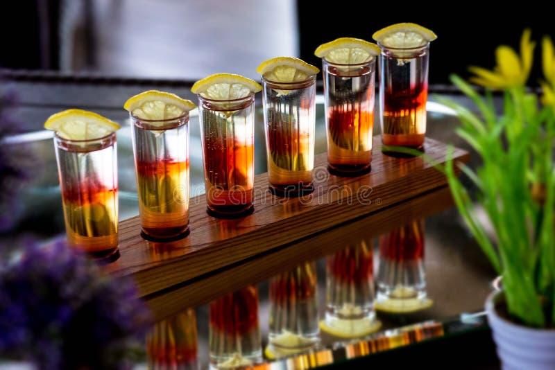 Alcoholcocktail stock fotografie