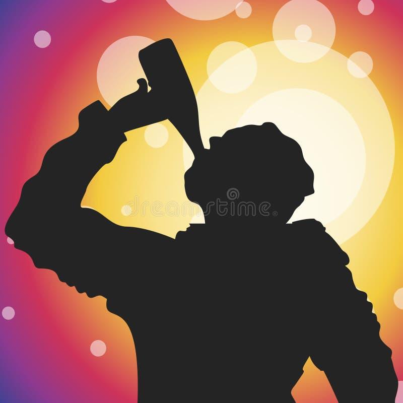 Alcoholic royalty free illustration