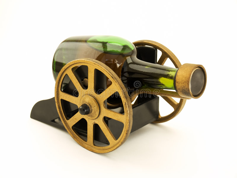 Download Alcoholic cannon stock image. Image of drink, vintage - 6553879