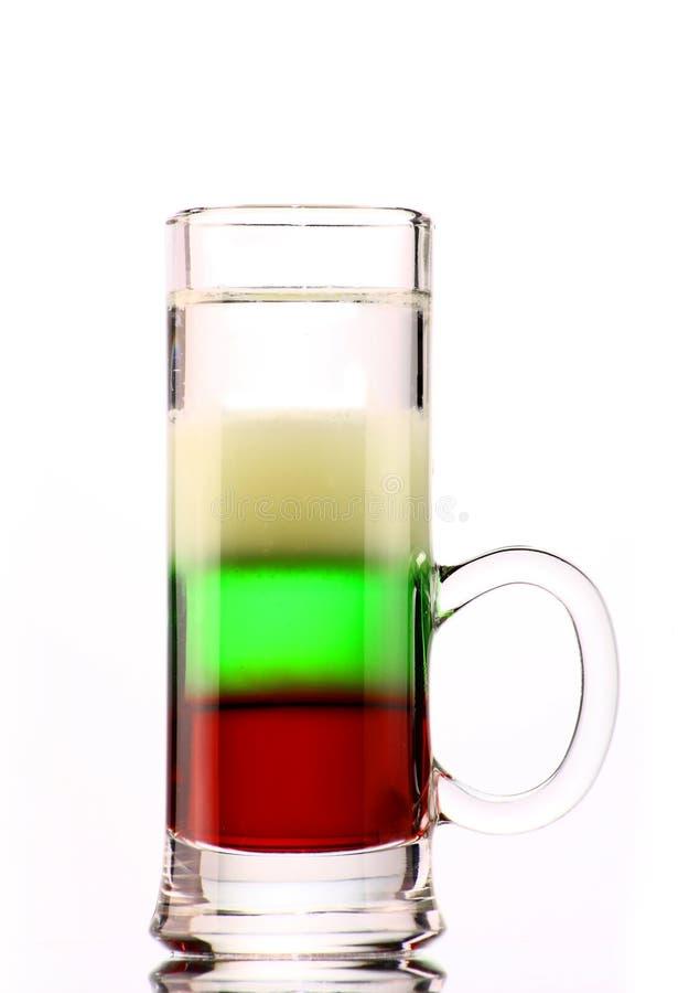 Alcoholic cocktail Yoshi stock image