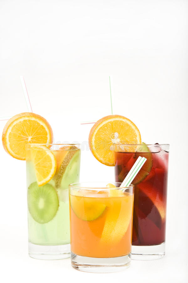 Free Alcoholic Cocktails, Studio Photographing Royalty Free Stock Photo - 9653095