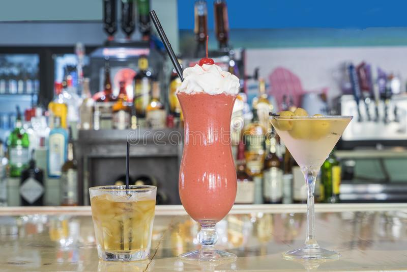 Pretty Alcoholic Beverage Drink royalty free stock images