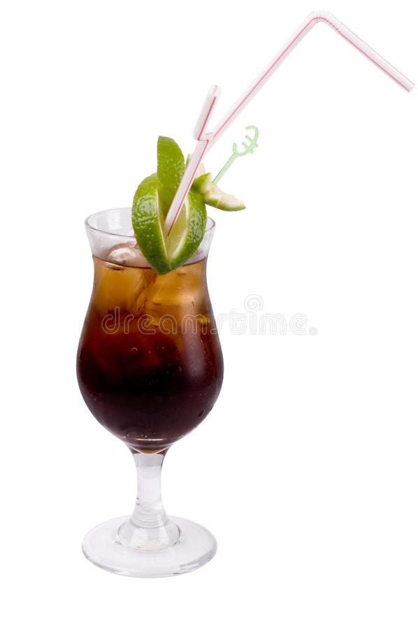 Alcoholische cocktail stock afbeeldingen