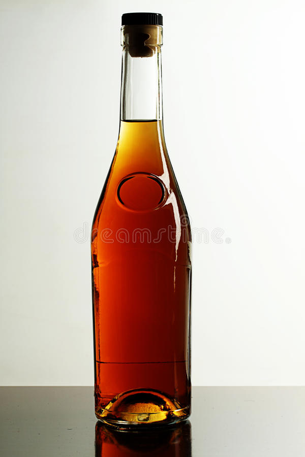 Alcoholische drank. stock afbeeldingen