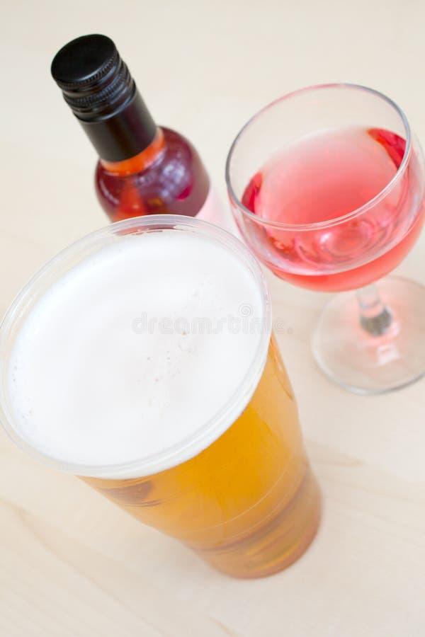 Alcoholische dranken royalty-vrije stock foto