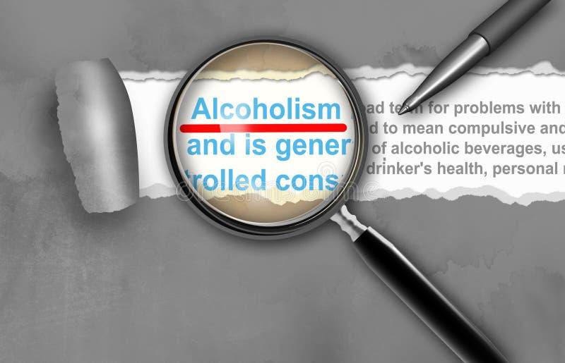 Alcolismo fotografie stock libere da diritti
