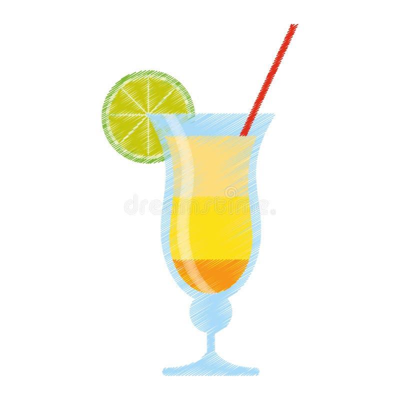 Alcool br sil de boissons de cocktail de dessin illustration de vecteur illustration du - Dessin cocktail ...