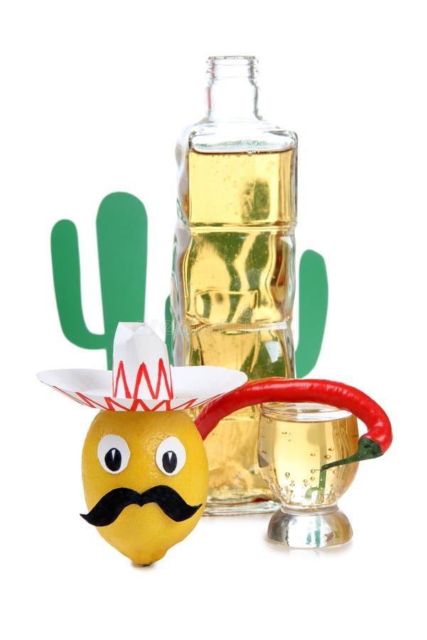 Alcool messicano due fotografia stock libera da diritti