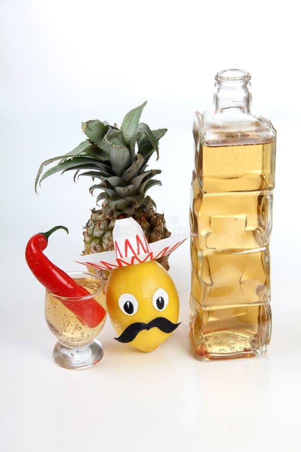 Alcool messicano sei immagine stock libera da diritti