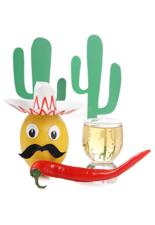 Alcool messicano uno immagini stock
